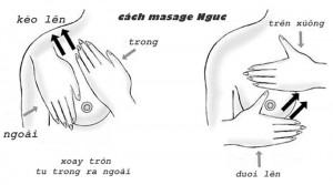 Hướng dẫn bạn gái cách massage giúp ngực to hơn