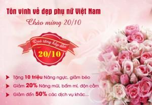 Quà tặng hấp dẫn 20/10 – Tôn vinh vẻ đẹp phụ nữ Việt Nam