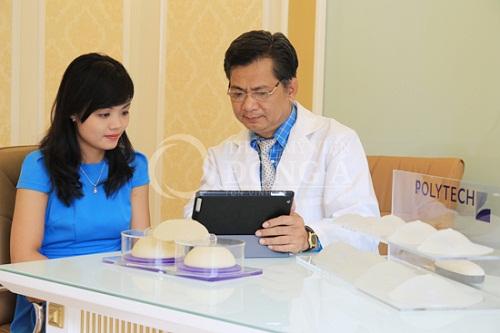 Bảo hành túi ngực vĩnh viễn cho khách hàng nâng ngực tại TMV Đông Á