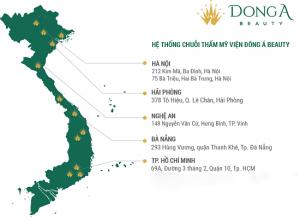 TMV Đông Á – Chuỗi hệ thống thẩm mỹ lớn nhất Việt Nam