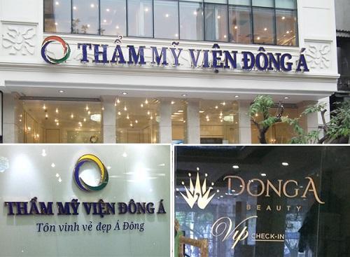 TMV Đông Á là địa chỉ nâng ngực ở Vinh an toàn