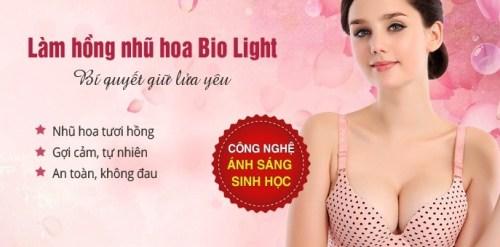 Cách làm hồng nhũ hoa Bio Light - 1 lần duy nhất, trẻ hóa toàn diện