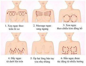 ngực như thế nào là đẹp